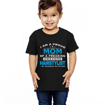 Hairstylist Mom - Mothers Day - Mother's Gifts Toddler T-shirt