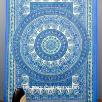 Indian Mandala Tapestries, Hippie Tapestries, Tapestry Wall Hanging, Bohemian Tapestry Throw, Boho Wall Tapestries, Dorm Bedding Tapestries