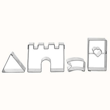 Fairy Tale Castle Cookie Cutter Set in cookie and pastry cutters at Lakeland