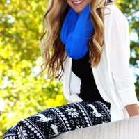 Essential Knit Infinity Scarf