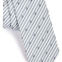 Men's Jack Spade Seersucker Anchor Silk Tie