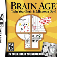 Brain Age - Nintendo DS (Game Only)