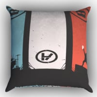twenty one pilots X0391 Zippered Pillows  Covers 16x16, 18x18, 20x20 Inches