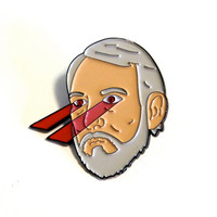 Coach Popovich Death Stare, the enamel pin