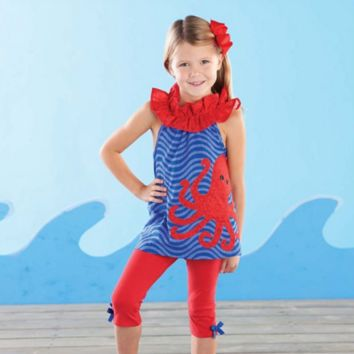 Octopus Tunic And Legging Set