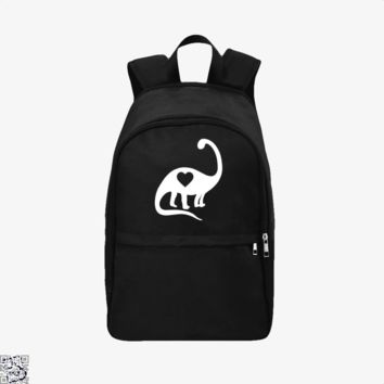 Dinosaur With Heart, Valentine's Day Backpack