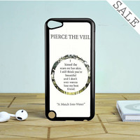 pierce the veil song lyrics band iPod Touch 5 Case