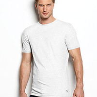 Polo Ralph Lauren Men's Underwear, Celebrity Crew Neck T-Shirt 3 Pack