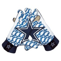 Nike Dallas Cowboys Stadium Gloves - Navy Blue