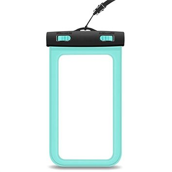 """Universal Waterproof Case Dry Bag Pouch Clear Sensitive PVC Touch Screen for iPhone 7 6 6S Plus 5 5s 5c Galaxy S7 S7 Edge S6 S5 S4 Note 4 3 LG G5 G3 Up to 5.5"""""""