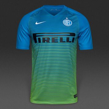 Inter Milan 2016/17 Third Away Men Soccer Jersey Personalized Name and Number