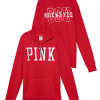 The Ohio State University Bling Half-zip Pullover - PINK - Victoria's Secret