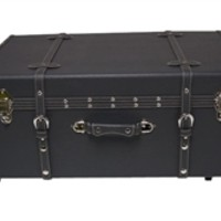 The Sorority College Dorm Trunk - Charcoal