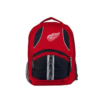 "Detroit Red Wings Backpack Official NHL ""Captain"""