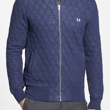 Fred Perry Quilted Bomber Jacket