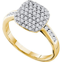 Diamond Fashion Ring in 14k Gold 0.51 ctw