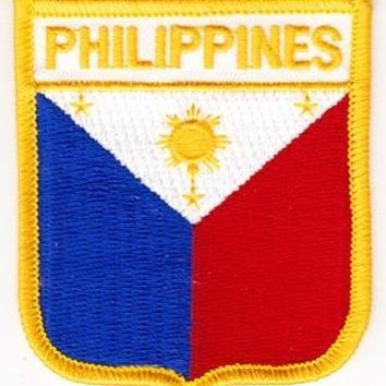 Philippines Shield Patch