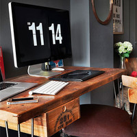 Urban Loft Reclaimed Wood Desk