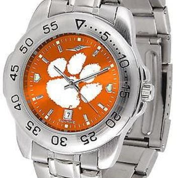 Clemson Tigers Anochrome Watch Color Dial Ladies or Mens