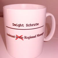 The Office Dunder Mifflin Dwight Schrute Mug