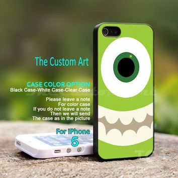 Monster Inc, For iPhone 5 Black Case Cover
