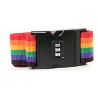 Rainbow Luggage Strap