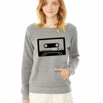 Tape - DJ - Cassette 3 ladies sweatshirt