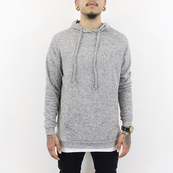 Wiley Long Sleeve Hoodie (Grey)