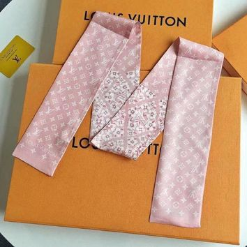 Louis Vuitton LV Women Scarf Shawl Silk Scarf-3