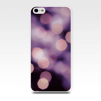 bokeh iphone case 5s iphone 4s case abstract iphone case fairy lights iphone 4 case 5 fine art iphone case purple iphone pink girly case