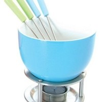 Mastrad Chocolate Fondue Set, Blue