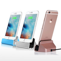 USB Cable Luxury Sync Data Charging Dock Station Cell phone Desktop Charger USB Cables For Apple iPhone 5 5s 5c 6 6Plus 6s   X1