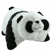 Pillow Pets Pee-Wees 11 Inch Folding Stuffed Animal - Comfy Panda