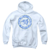 FRIDAY NIGHT LIGHTS/PHYS ED - YOUTH PULL-OVER HOODIE - WHITE - MD - WHITE -