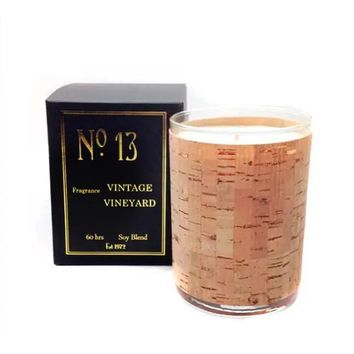 Wood Candle No. 13 Vintage Vineyard