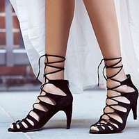 Jeffrey Campbell + Free People Womens Satine Heel
