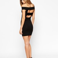 ASOS Bardot Bodycon Mini Dress