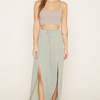 Crinkled Maxi Skirt | Forever 21 - 2000177076