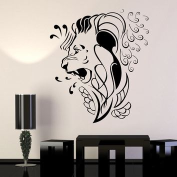 Vinyl Wall Decal Stickers Lion King Animal Decor Predator Unique Gift (677ig)