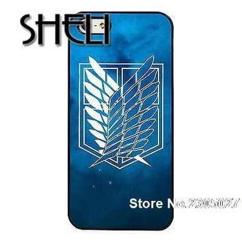 Cool Attack on Titan SHELI Symbol  case cover for iphone 5s 6 6s 6plus 7 7plus Samsung galaxy note5 s3 s4 s5 s6 edge s7 edge AT_90_11