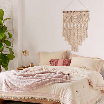 Myra Raw Edge Comforter - Urban Outfitters