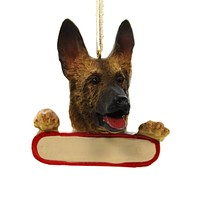 Personalized Ornaments German Shepherd Personalized Ornament