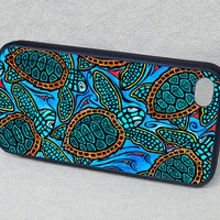 iPhone 5 case, cover, iPhone 4 4S, iPhone 5, Baby Turtles Rubber iPhone case