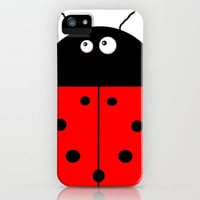 Ladybug iPhone Case by Shalisa Photography