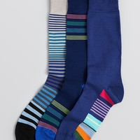 Paul Smith Striped Socks, Pack of 3