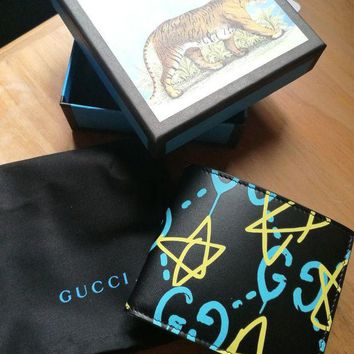 DCCKIN2 GUCCI Ghost mens wallet apollo leather brand new in box rrp 270£