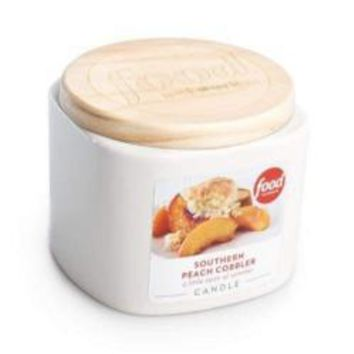 Food Network Southern Peach Cobbler Candle