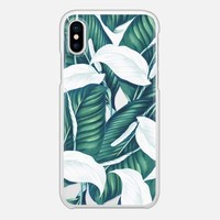 Casetify iPhone X Snap Case - Tropical Winter iPhone and iPod Case by 83 Oranges™