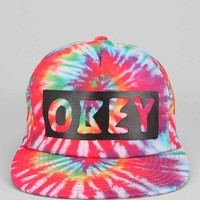OBEY Phil Tie-Dye Logo Strap-Back Hat - Multi One