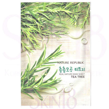 Nature Republic Real Nature Tea Tree Mask Sheet
